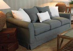 linen loose cover sofas - Google Search