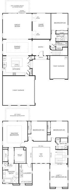 Horizon Terrace South Plan 2 Floorplan