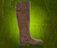 Step out in style with the Madden Girl Cactuss riding boots; these can be found in the aisles of Shoe Carnival.
