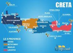 Dove alloggiare a Creta, informazioni per organizzare la vostra vacanza Creta, dove dormire, cosa fare e quali spiagge vedere.