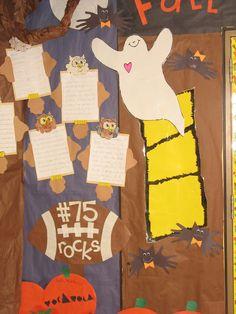 Fall School Hallway Decorations