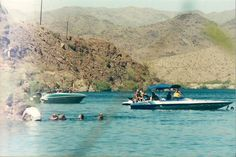 Playing on the Colorado River, AZ