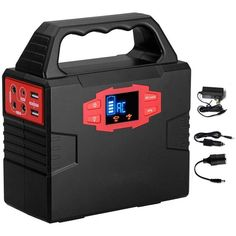 40800mAh 220V 150W Protable Solar Genenator Lithium Storage Box Emergency Power Supply