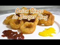 Onion Rings do Burger King (Cebola Empanada) - Receitas de Minuto #29
