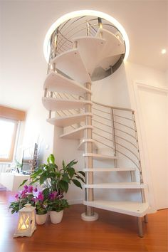2011 by Stefano Loiola, architecture, design, interiors, stair♦๏~✿✿✿~☼๏♥๏花✨✿写❁~⊱✿ღ~❥椿⁕FR Aug ~♥⛩☮️ Interior Staircase, Stairs Architecture, Architecture Design, Spiral Stairs Design, Staircase Design, Tiny House Stairs, Home Interior Design, Design Interiors, House Layouts