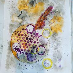 Tinta China, Painting, Watercolor And Ink, Feathers, Mandalas, Creativity, Artists, Painting Art, Paintings