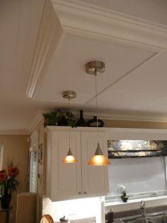 Kitchen Has Flourescent Lights
