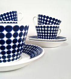 "Stig Lindberg, Gustavsberg, Tableware - Coffe cup ""Adam"" / Sweden"