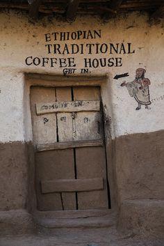 Traditional Ethiopian Coffee House in Lalibela