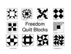 10 Best Lesson Quilts: slavery, civil rights, ancestery