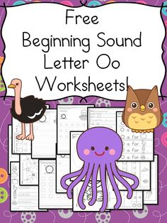 Beginning Sounds Letter O Worksheets Free Beginning Sounds Letter O worksheets to help you teach the letter O and the sound it makes to preschool or kindergarten students. Letter O Activities, Letter O Worksheets, Kindergarten Worksheets, Kindergarten Lesson Plans, Preschool Kindergarten, 1st Grade Writing Prompts, Letter O Crafts, Free Preschool, Preschool Crafts