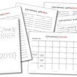 101 Days of Christmas: 2013 Printable Christmas Planner > Life Your Way