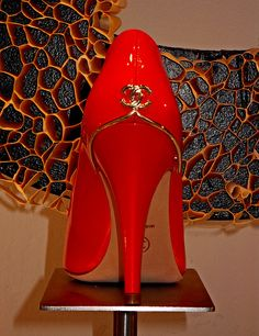 Luxury Shop | Red Chanel Heels Via LadyLuxury~