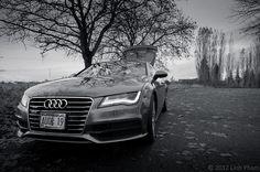 #MonochromaticMonday: @Audi USA #A7.