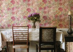 Dining Rooms on Pinterest Vintage Wallpapers, Wallpapers and Dining ...