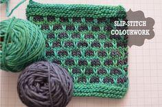 The bingeknitter: How to: Slip stitch colourwork