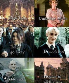Yes,Draco's hot