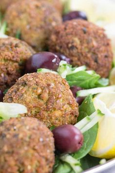 Truly Authentic Falafel {Beard and Bonnet} bake instead of frying