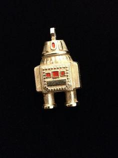 Avon Robot Pendant by ReFoundNReFind on Etsy