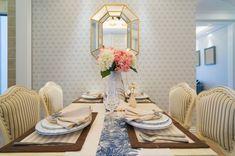 decoração com casa nova - sala de jantar