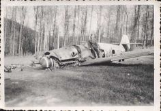 Bf 109 Wreck | Pictures of crash landed Bf 109 G-6s