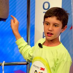 Peyton Robertson, 11, from Ft. Lauderdale, Fla., invented a new kind of sandbag to protect people from floods and got a nice chunk of cash as a reward.