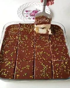 Food And Drink, Tart, Breakfast, Sweet, Puddings, Instagram, Pump, Turkish Recipes, Kuchen