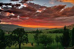 Sunrise over Ashland