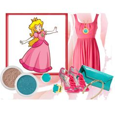 Princess Peach - Halloween 2012
