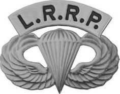 Army LRRP Hat/lapel Pin