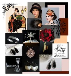 Strong Women by inspiredbyten on Polyvore featuring Burton and vintage