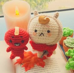 Crochet Poipet and Buckwheat (free crochet pattern!)