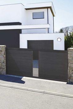 #bretagne #entrée #portail#alu #aluminium #deco #garden#outdoor #jardinextraordinaire #kostum#kostumbycadiou