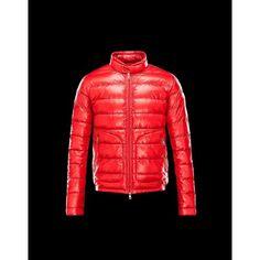 Moncler Jakke Herre ACORUS Ultralight Rød Dunjakke Herre Techno Fabric/Polyamide udsalg Moncler Dunjakke Herre