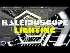Cinema 4D - Kaleidoscope Tunnel Texturing and Lighting Tutorial