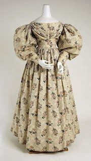 DANS LE BOUDOIR SECRET: 1830 y la moda