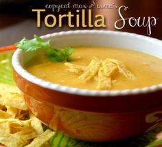 Max & Erma's Copycat Tortilla Soup Recipe!!! If you like this soup, then this copycat recipe is for you!