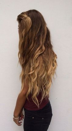 I want my hair to be this long or maybe even longer!!!♡~♡