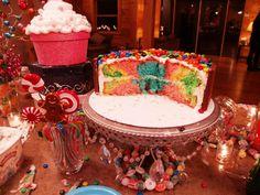 Kit Kat Cake - Tie Dye colors