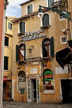 ristorante malibran, venice. Named after opera start Maria Malibran??