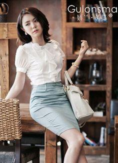 Office Lady Excutive Formal Chiffon Blouses