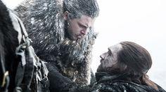 """Jon & Uncle Benjen (7x6 """"Beyond the Wall"""")"""