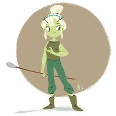 #characterdesign #girlsdrawingirls #forest #creature #sketch #girl