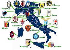 mapa_italia.jpg - Así estan repartidos los equipos por la gran bota.