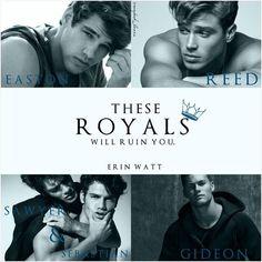 Broken Prince (The Royals, by Erin Watt I Love Books, Good Books, My Books, Douglas Booth, Novels To Read, Books To Read, Royal Paper, Book Boyfriends, Book Fandoms
