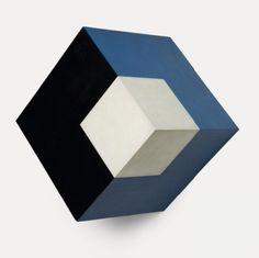 vjeranski:  WILLYS DE CASTROActive Object, 1962Oil on canvas14 × 13 9/10 × 9 4/5 in35.5 × 35.3 × 25 cm