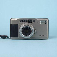 Iconic Contax TVS 35mm Titanium Film Camera