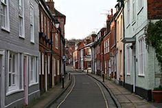 A quaint & charming little English town. More on www.chocolatecookiesandcandies.com