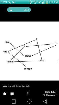 Black out poetry love this writer 4 life pinterest my mind is a mess i cant escape visual poetry ccuart Image collections