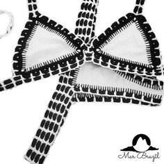 Arriving soon! Don't wait to get yours! Black & white bikini with details in crochet Black And White Bikini, Black White, Brazilian Swimwear, Summertime, Shop Now, Detail, Summer 2016, Crochet, Bikinis